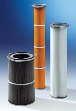 фильтр картриджный пылевой с фланцем - техноград