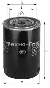 Масляный фильтр для компрессора Gardner Denver