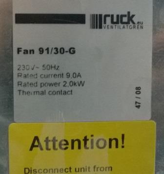 Fan 91/30-G