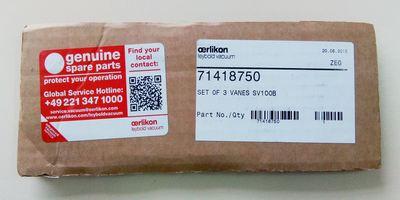 лопатки для вакуумного насоса Oerlikon Leybold Vacuum